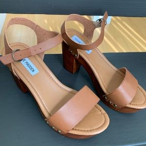Steve Madden Platform sandals sz 8.5